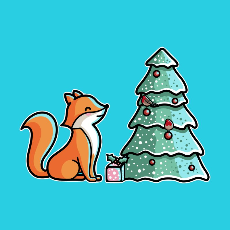 Cute Christmas Fox by Flaming Imp's Artist Shop