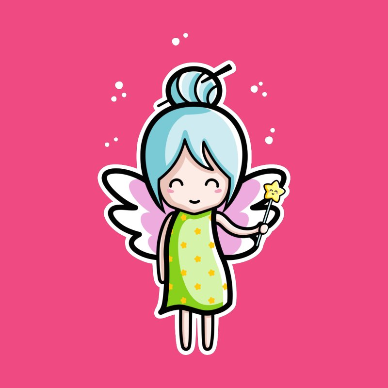 Kawaii Cute Fairy by Flaming Imp's Artist Shop