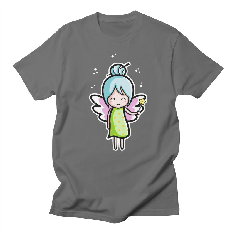 Kawaii Cute Fairy Men's T-Shirt by Flaming Imp's Artist Shop