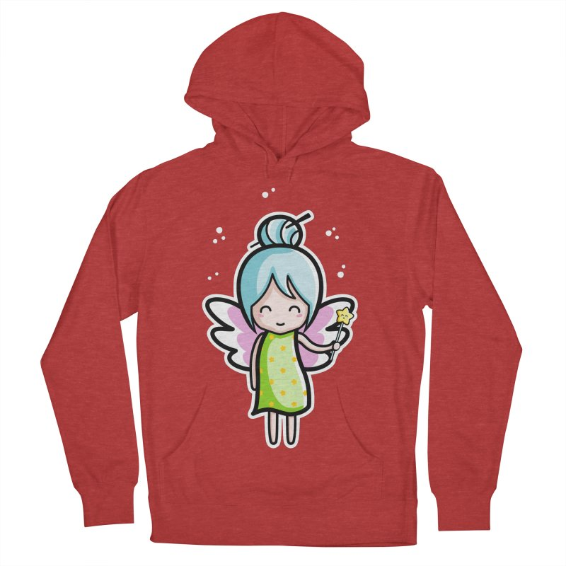 Kawaii Cute Fairy Women's French Terry Pullover Hoody by Flaming Imp's Artist Shop