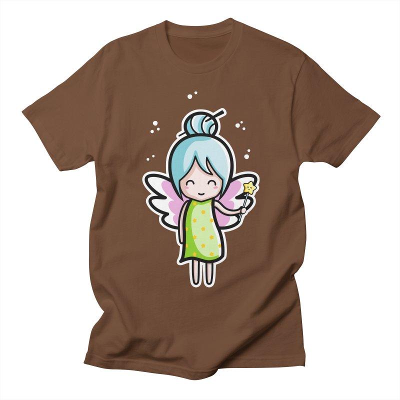 Kawaii Cute Fairy Women's Regular Unisex T-Shirt by Flaming Imp's Artist Shop