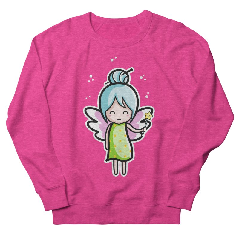 Kawaii Cute Fairy Men's French Terry Sweatshirt by Flaming Imp's Artist Shop