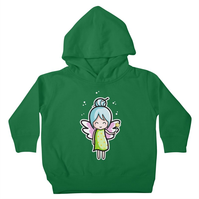 Kawaii Cute Fairy Kids Toddler Pullover Hoody by Flaming Imp's Artist Shop
