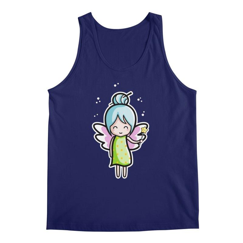 Kawaii Cute Fairy Men's Regular Tank by Flaming Imp's Artist Shop
