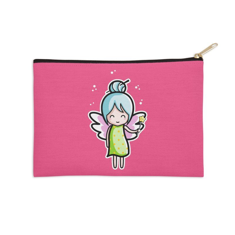 Kawaii Cute Fairy Accessories Zip Pouch by Flaming Imp's Artist Shop