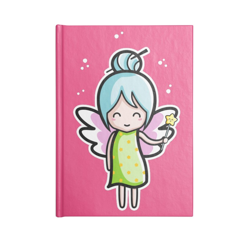 Kawaii Cute Fairy Accessories Notebook by Flaming Imp's Artist Shop