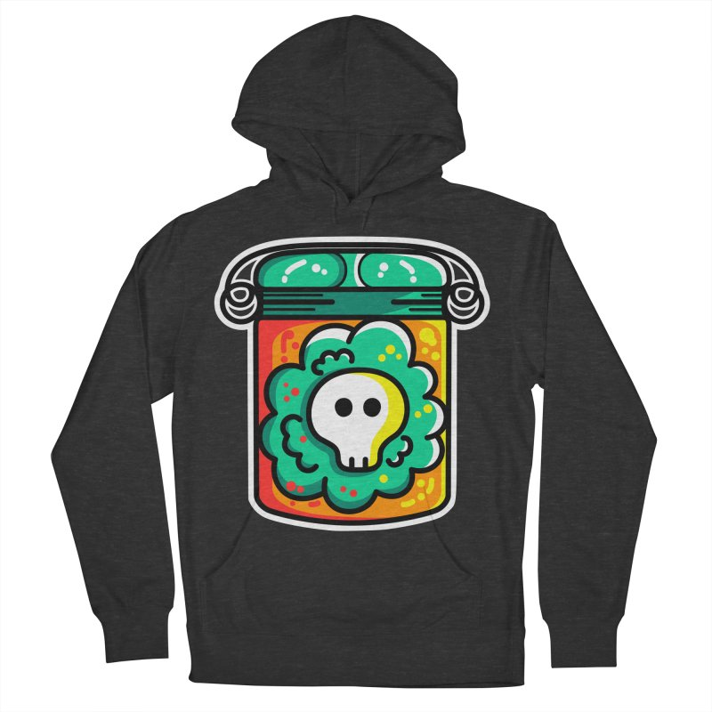 Cute Skull In A Jar Women's French Terry Pullover Hoody by Flaming Imp's Artist Shop