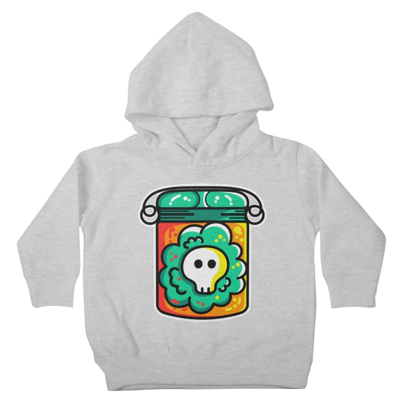 Cute Skull In A Jar Kids Toddler Pullover Hoody by Flaming Imp's Artist Shop