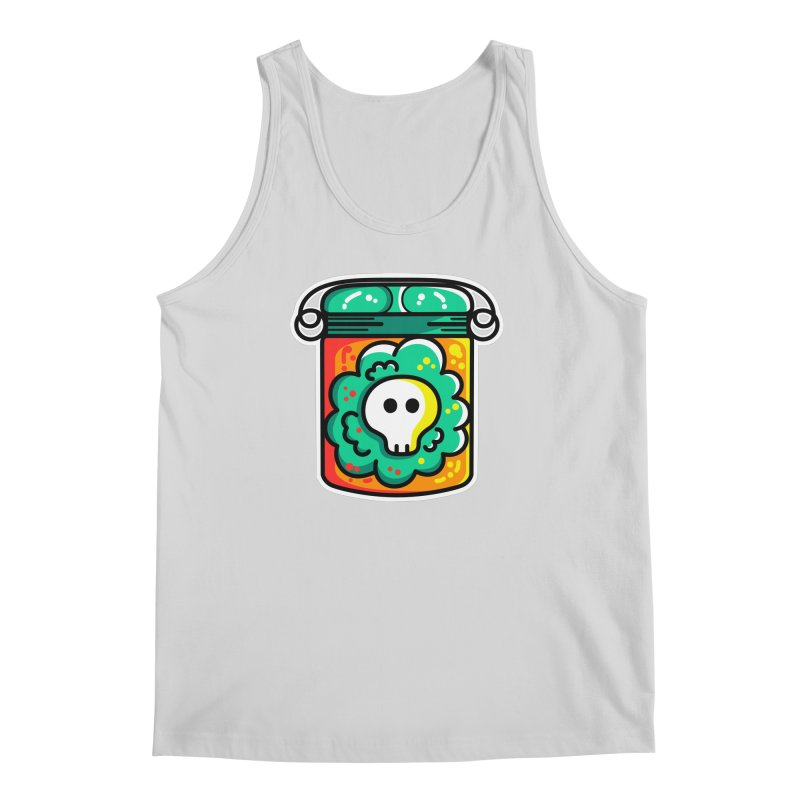 Cute Skull In A Jar Men's Regular Tank by Flaming Imp's Artist Shop