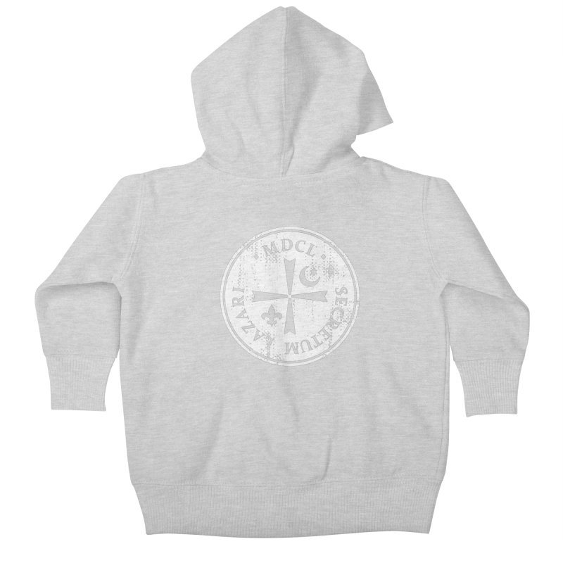 Knights Of Lazarus Discovery Of Witches Kids Baby Zip-Up Hoody by Flaming Imp's Artist Shop