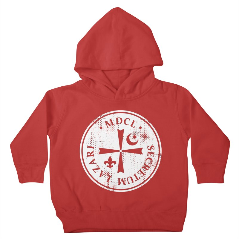 Knights Of Lazarus Discovery Of Witches Kids Toddler Pullover Hoody by Flaming Imp's Artist Shop