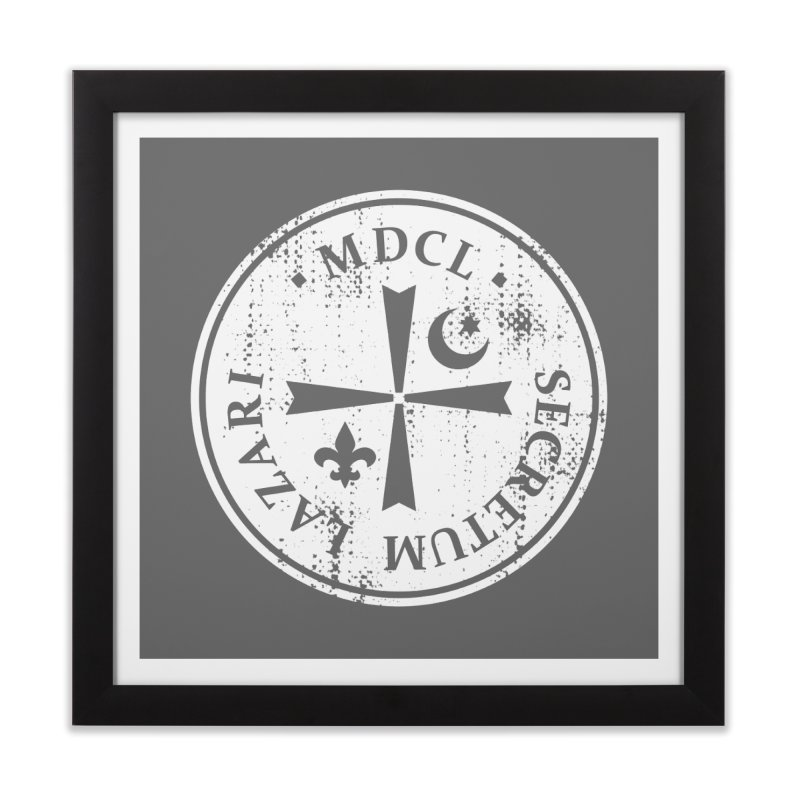 Knights Of Lazarus Discovery Of Witches Home Framed Fine Art Print by Flaming Imp's Artist Shop