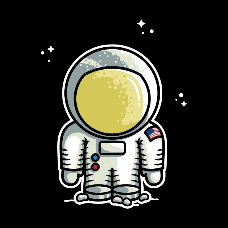 Cute Astronaut by Flaming Imp's Artist Shop
