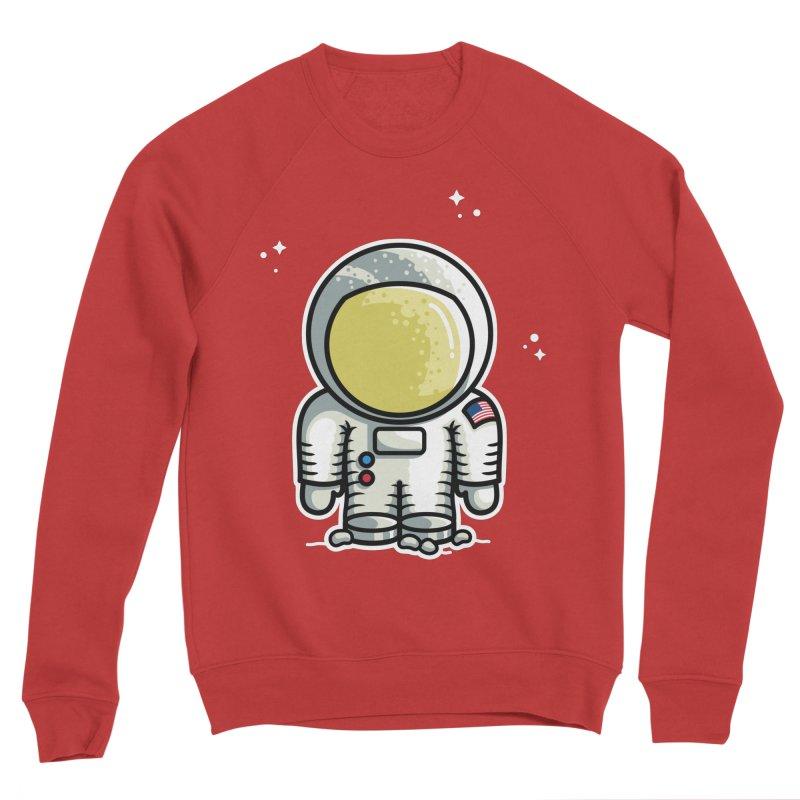 Cute Astronaut Women's Sponge Fleece Sweatshirt by Flaming Imp's Artist Shop