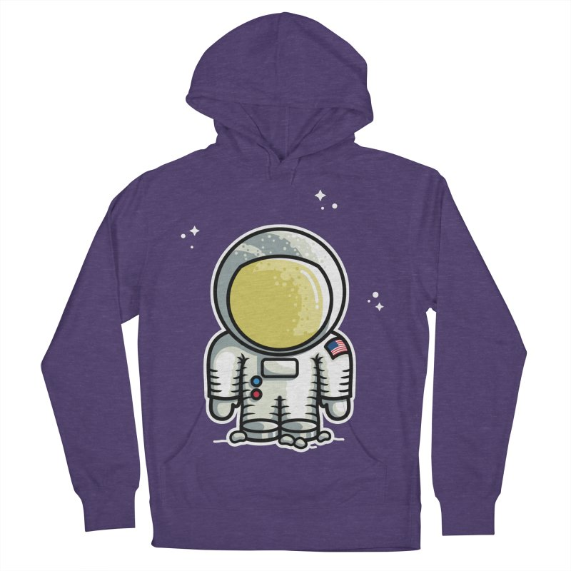 Cute Astronaut Women's French Terry Pullover Hoody by Flaming Imp's Artist Shop