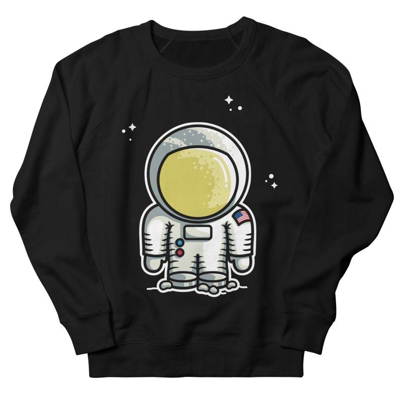 Cute Astronaut Women's French Terry Sweatshirt by Flaming Imp's Artist Shop