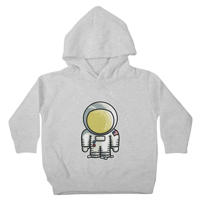 Cute Astronaut Kids Toddler Pullover Hoody by Flaming Imp's Artist Shop