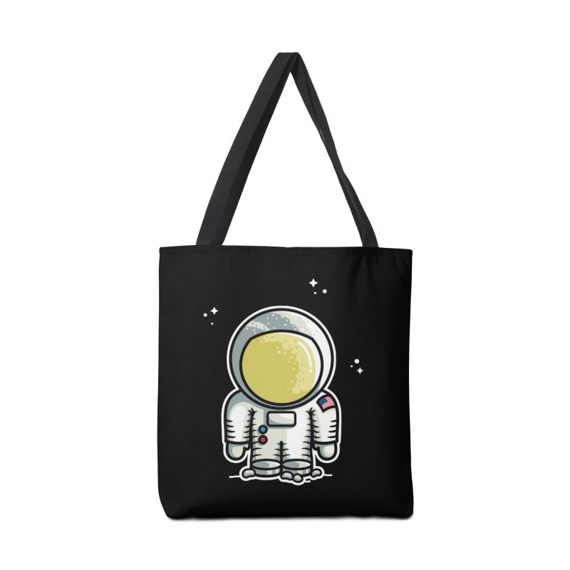 Cute Astronaut Accessories Tote Bag Bag by Flaming Imp's Artist Shop