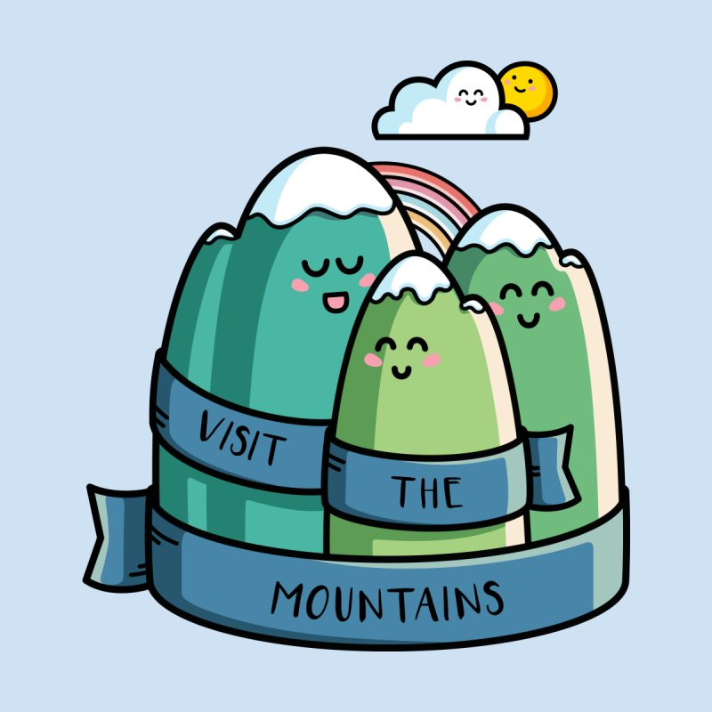 Visit the mountains by Flaming Imp's Artist Shop