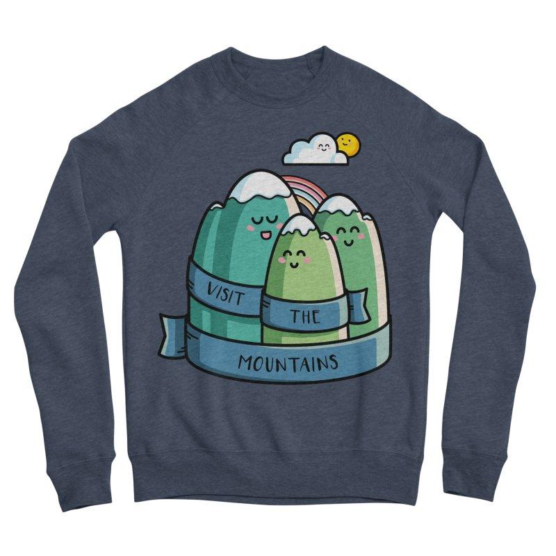 Visit the mountains Women's Sponge Fleece Sweatshirt by Flaming Imp's Artist Shop