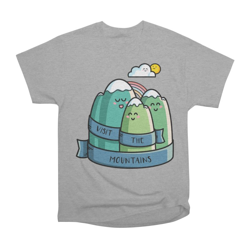Visit the mountains Men's Heavyweight T-Shirt by Flaming Imp's Artist Shop