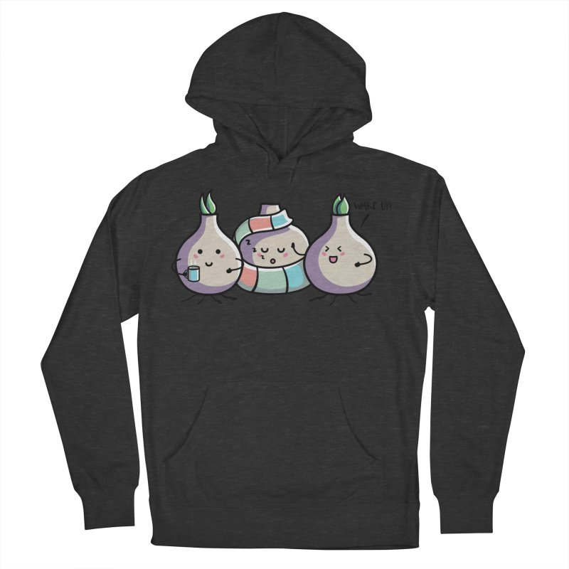 Kawaii Cute Spring Bulbs Men's French Terry Pullover Hoody by Flaming Imp's Artist Shop