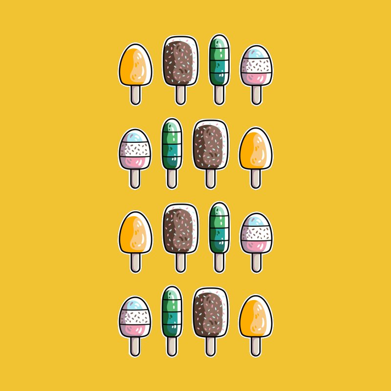 Fun Ice Lollies / Popsicles by Flaming Imp's Artist Shop