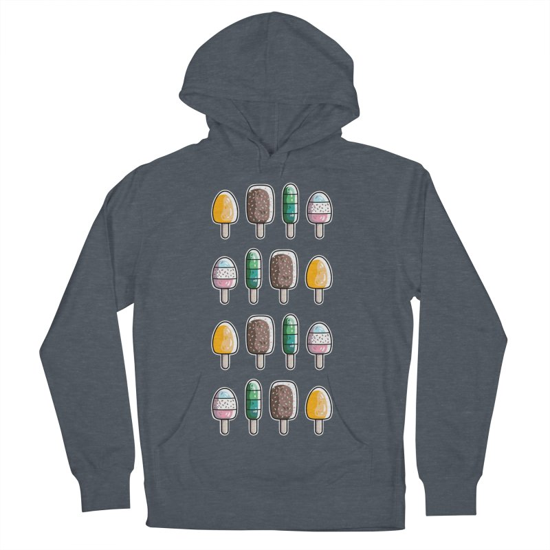 Fun Ice Lollies / Popsicles Men's French Terry Pullover Hoody by Flaming Imp's Artist Shop