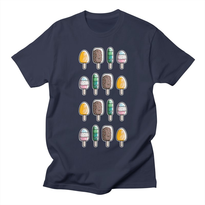 Fun Ice Lollies / Popsicles Women's Regular Unisex T-Shirt by Flaming Imp's Artist Shop