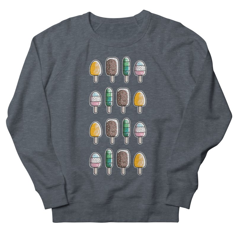 Fun Ice Lollies / Popsicles Women's French Terry Sweatshirt by Flaming Imp's Artist Shop