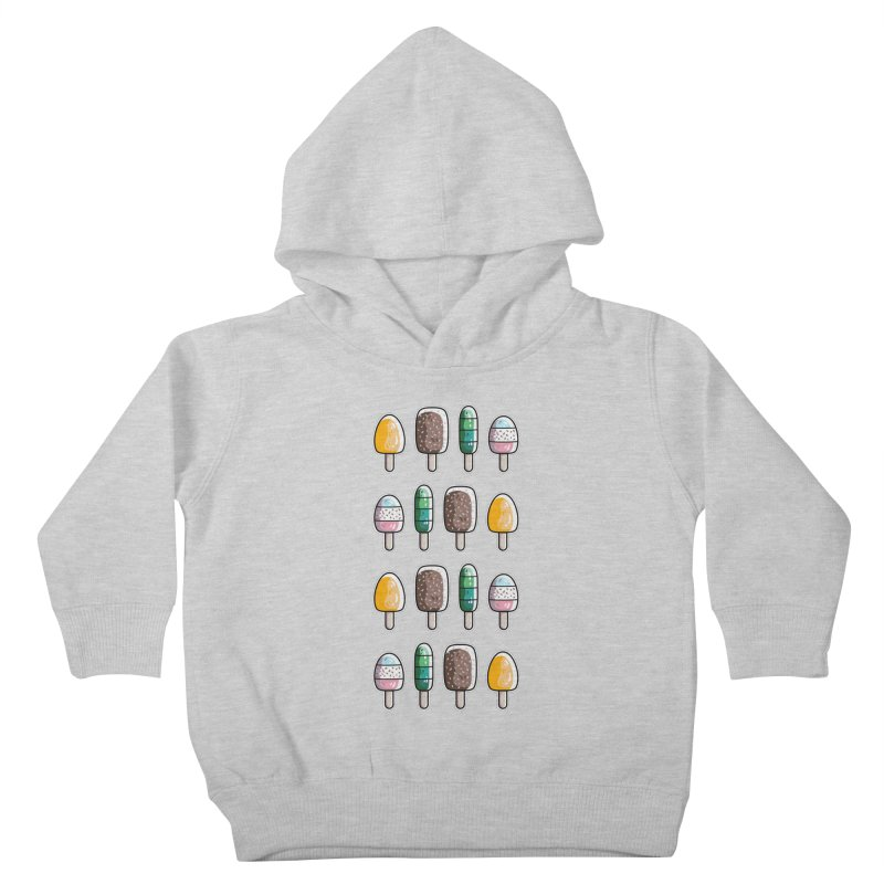 Fun Ice Lollies / Popsicles Kids Toddler Pullover Hoody by Flaming Imp's Artist Shop