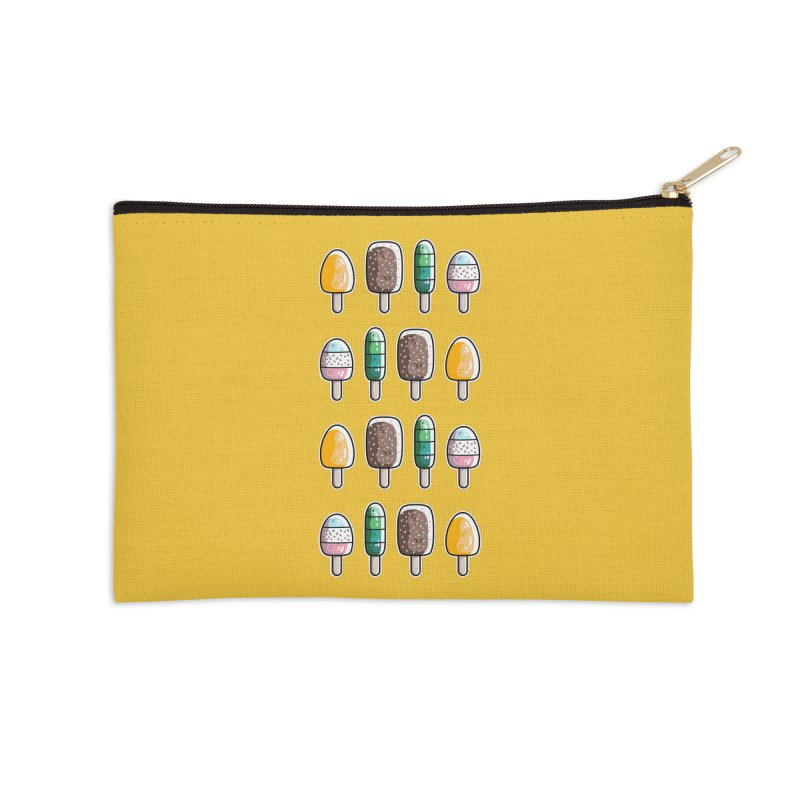 Fun Ice Lollies / Popsicles Accessories Zip Pouch by Flaming Imp's Artist Shop