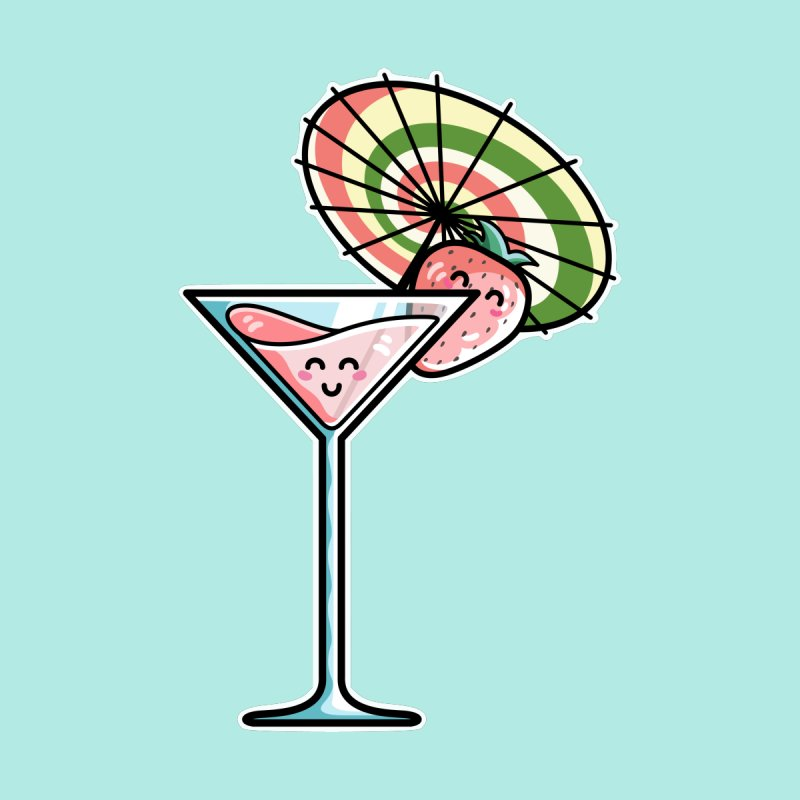 Kawaii Cute Kaylee's Strawberry Cocktail by Flaming Imp's Artist Shop