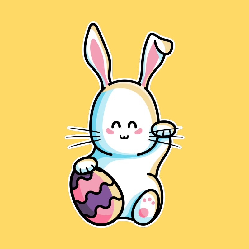 Lucky Rabbit Easter Bunny   by Flaming Imp's Artist Shop