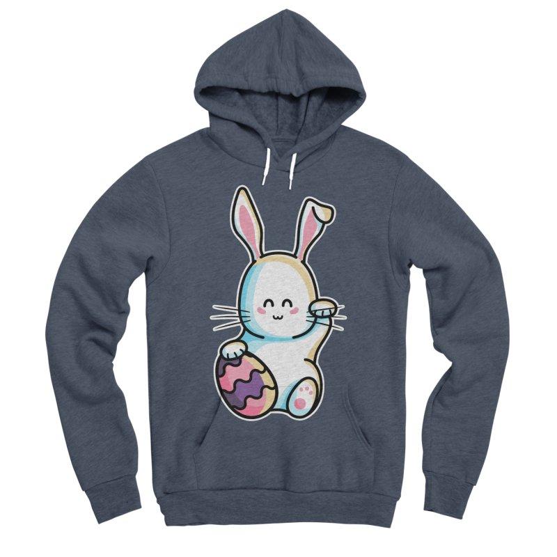 Lucky Rabbit Easter Bunny Women's Sponge Fleece Pullover Hoody by Flaming Imp's Artist Shop