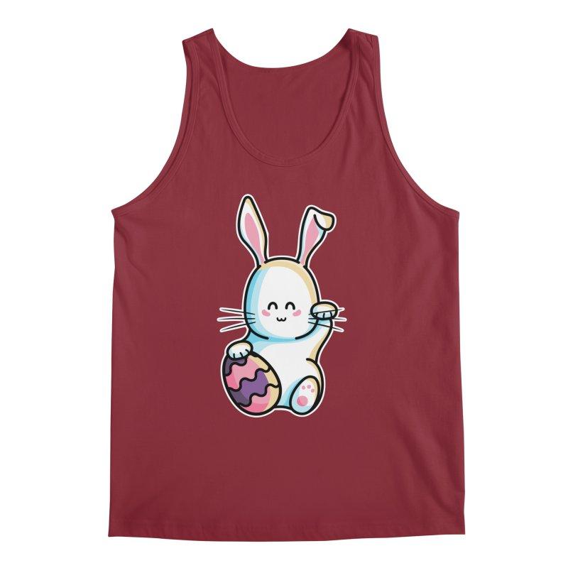 Lucky Rabbit Easter Bunny Men's Regular Tank by Flaming Imp's Artist Shop