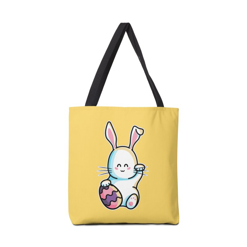 Lucky Rabbit Easter Bunny Accessories Tote Bag Bag by Flaming Imp's Artist Shop