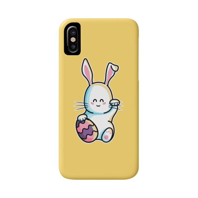 Lucky Rabbit Easter Bunny Accessories Phone Case by Flaming Imp's Artist Shop