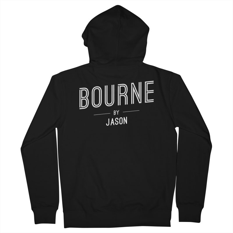 BOURNE by JASON Men's Zip-Up Hoody by flashy's Artist Shop