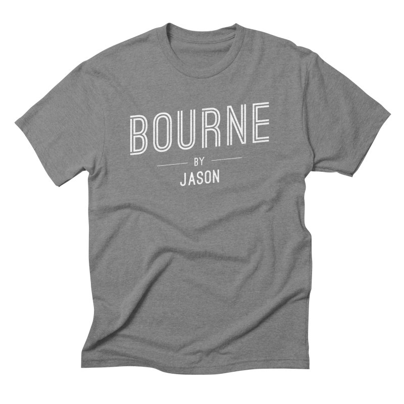 BOURNE by JASON Men's Triblend T-Shirt by flashy's Artist Shop