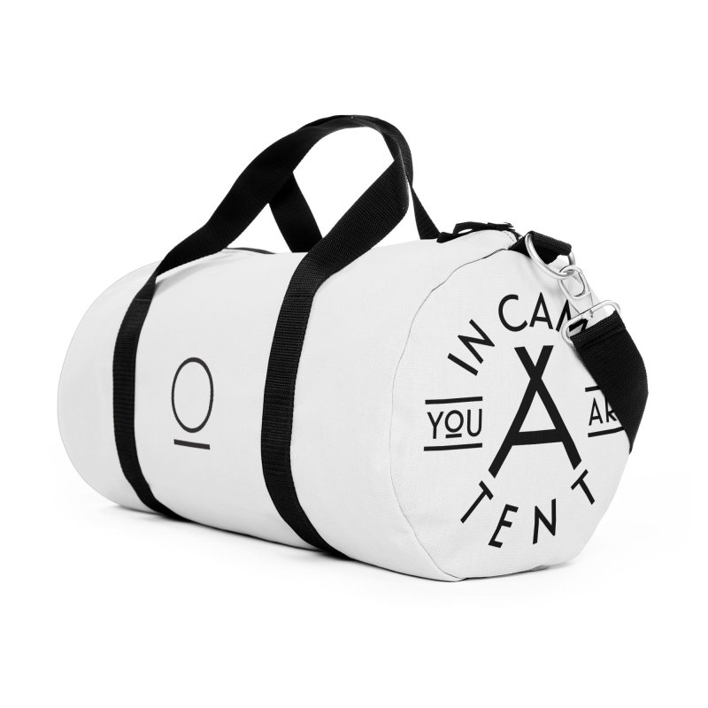 You Are In-camp-a-tent Accessories Duffel Bag Bag by Flatirony