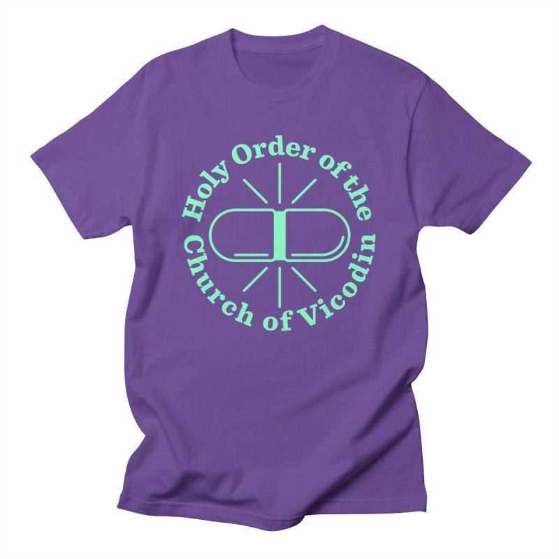 Church of Vicodin Men's T-Shirt by Flatirony