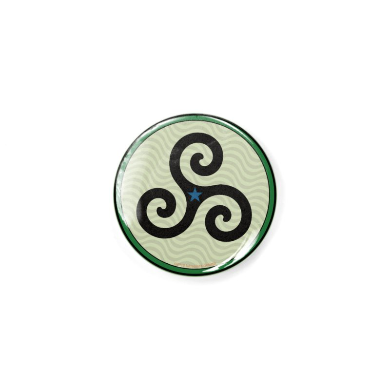 FLD Triskele Emblem Accessories Button by falconlara.design shop