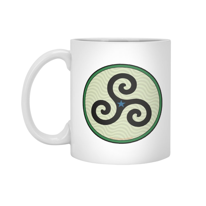 FLD Triskele Emblem Accessories Standard Mug by falconlara.design shop