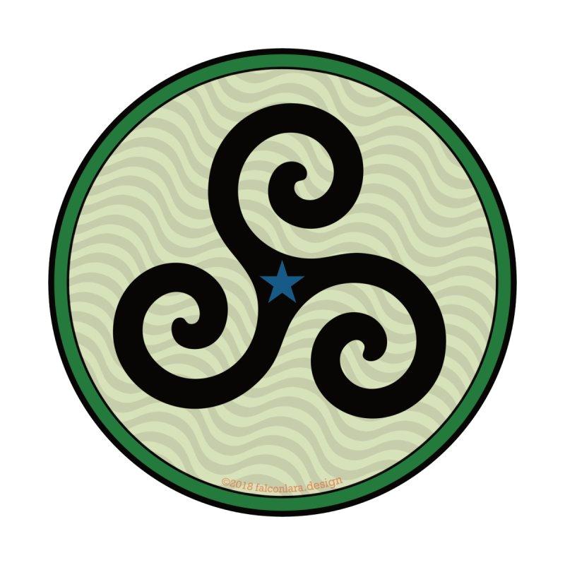 FLD Triskele Emblem by falconlara.design shop