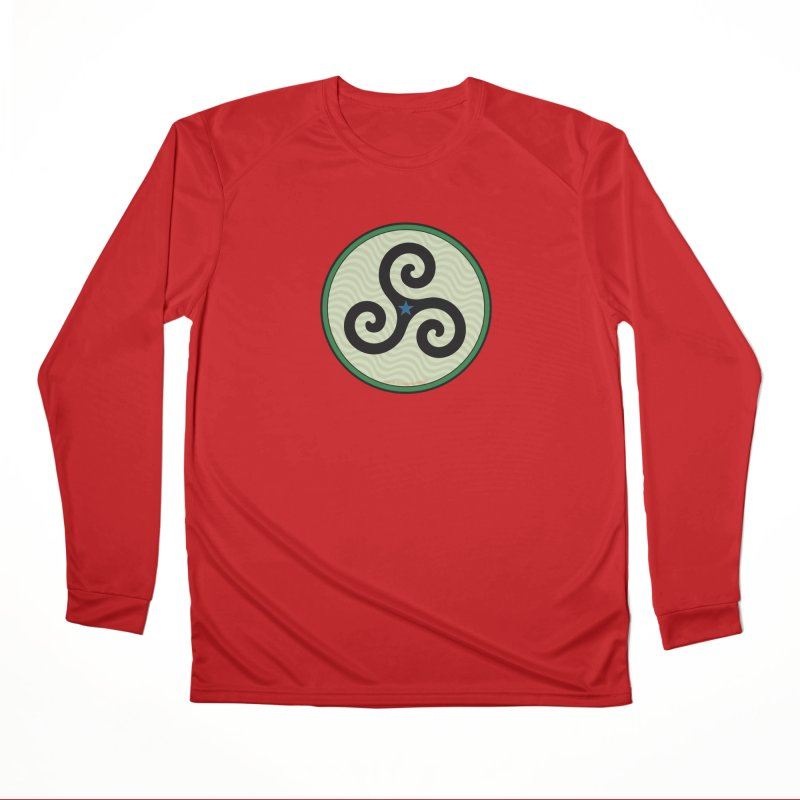 FLD Triskele Emblem Men's Performance Longsleeve T-Shirt by falconlara.design shop