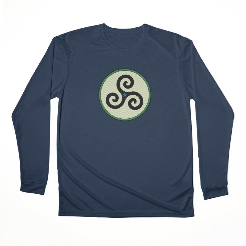 FLD Triskele Emblem Women's Performance Unisex Longsleeve T-Shirt by falconlara.design shop