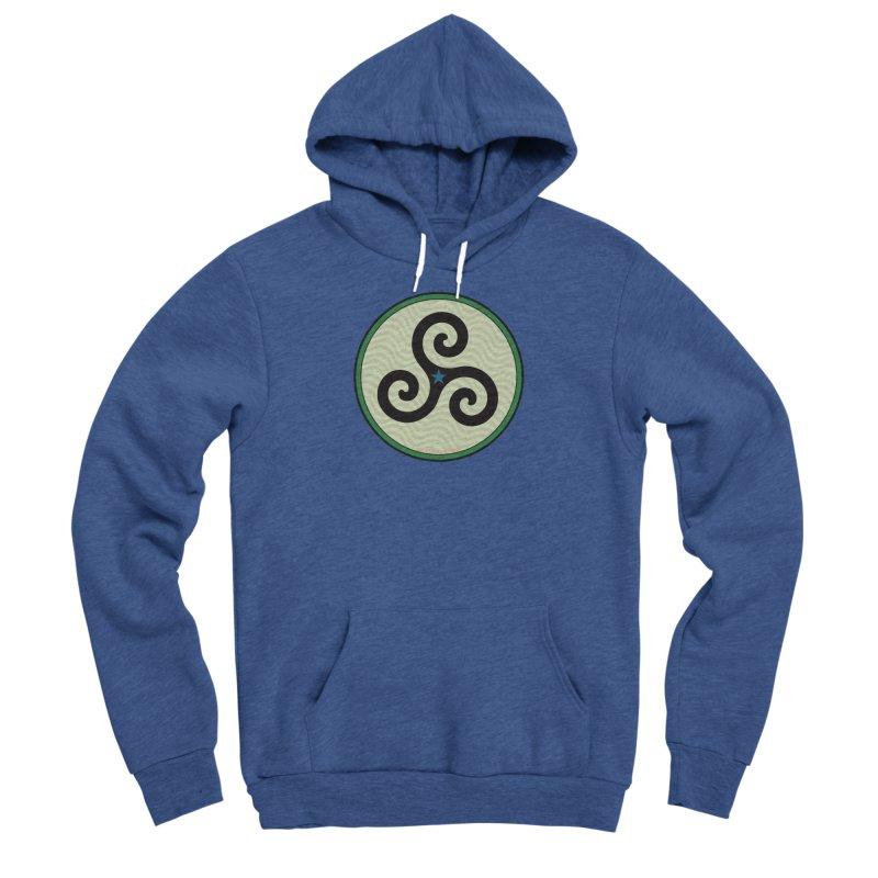 FLD Triskele Emblem Men's Sponge Fleece Pullover Hoody by falconlara.design shop