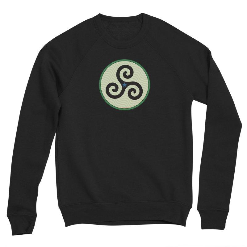FLD Triskele Emblem Men's Sponge Fleece Sweatshirt by falconlara.design shop