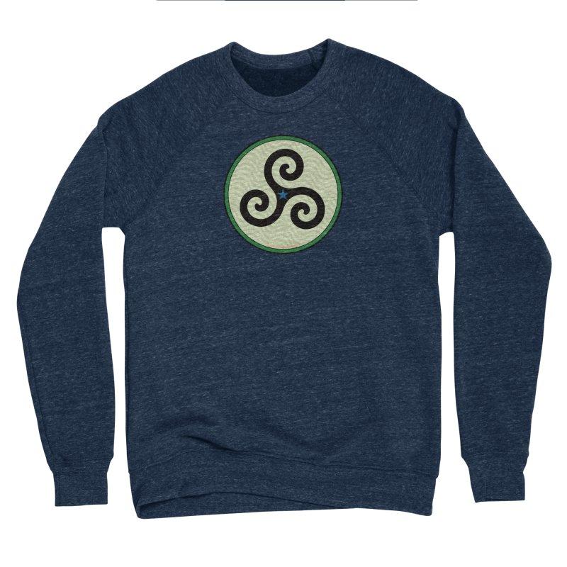 FLD Triskele Emblem Women's Sponge Fleece Sweatshirt by falconlara.design shop